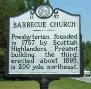 Barbecue Church, NC - Scottish